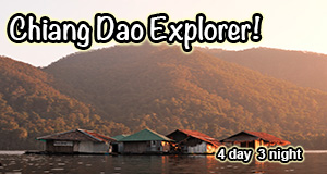 4 Day 3 Night Chiang Mai Trekking, Cycling and Kayaking